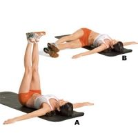 olympic trainer's lower ab workout