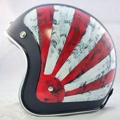SYT 54-60cm Moto En Cuir Moiti/é Casque R/étro Lunettes