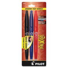 Pilot FriXion Ball Erasable Gel Pens Fine Point Assorted Colors ... 2DAYSHIPPING #Pilot