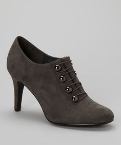 Another great find on #zulily! Gray Thunder Bootie by ann marino #zulilyfinds