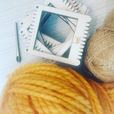 Mini Me Rectangular Weaving Loom Circular Loom, Loom Weaving, Yarn Needle, Wool Yarn, Etsy Store, To My Daughter, Colours, Pure Products, Mini