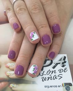 Uñas Pink Nails, My Nails, Nail Time, Maria Jose, Nails Design, Gift Baskets, Nail Ideas, Hair Beauty, Nail Art