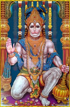"☀ SHRI HANUMAN ॐ ☀ ""Those persons who always chant ""Shri Ram"", ""Shri Ram"", without any doubt would get victory as well as salvation and happiness.""~Ram sthava Raja"