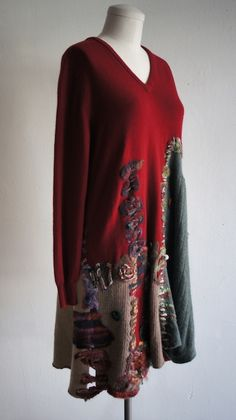 Beautiful felted cashmere piece available in our store.