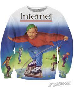 Internet Crewneck Sweatshirt