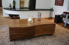 Table basse en bois modern et design
