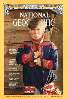 Sami people. This kid looks like Joni Mitchell (who has Sami roots!)