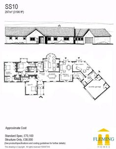1000 ideas about self build houses on pinterest border for Fleming homes floor plans