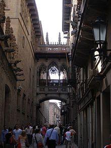 Barri Gotic (das älteste Stadtviertel von Barcelona)