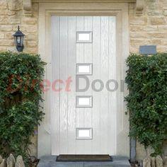 Lifestyle Image of Siena Composite Door with Stippolyte Obscure Glass https://upvcfabricatorsindelhi.wordpress.com/