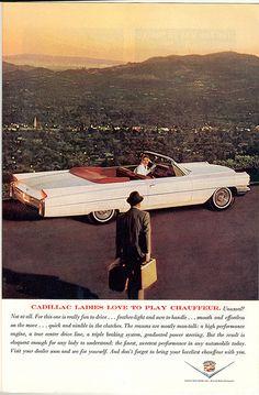 Cadillac. March 1963