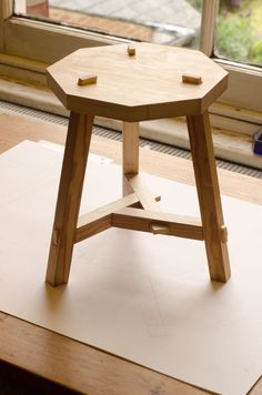 Three-legged Chinese stool | Finely Strung