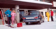 Snapshot, Ski bunnies and snow chains Snow Chains, Ski Bunnies, Bmw Alpina, Bmw 2002, Bmw Classic, New Bmw, New Class, Bmw Cars, Skiing