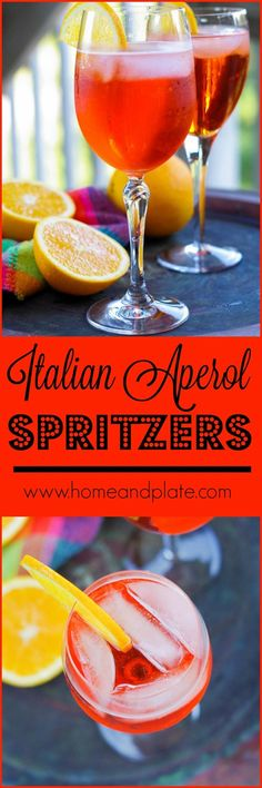 Italian Aperol Sprit