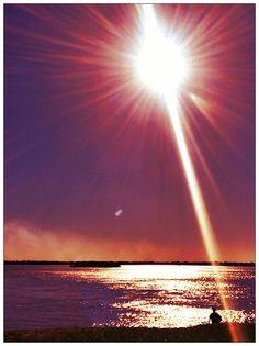 El Sol Sobre El RIo Parana