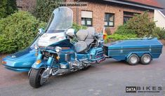 1992 Honda  Goldwing Motorcycle Combination/Sidecar photo