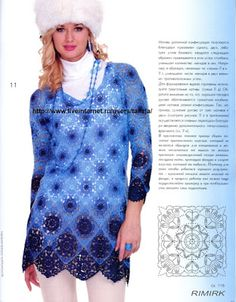 My places: Free patterns for amazing crochet dresses