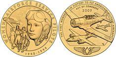 Women Airforce Service Pilots of World War II Medal