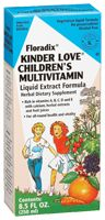 Flora Kinder Love Children'S Multivitamin, 8.5 Fluid Ounces , Liquid