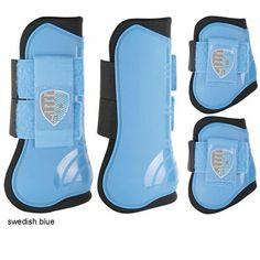 PEESBESCHERMERSET HARRYS HORSE Open jump boots - Ice Blue