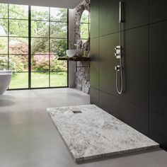Nuestro modelo Rock en un ambiente de baño con mucho Rock & Roll : Bosnor El Rock And Roll, Solid Surface, Bathtub, Bathroom, Models, Environment, Shower Trays, Natural Stones, Showers