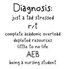 nursing school - so true (already)!