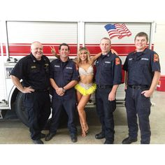 Whilst shooting for @dancingabc recently, I got to hang out with 'The real firemen of Alabama' Cheers Fellas for letting me climb on your engines!