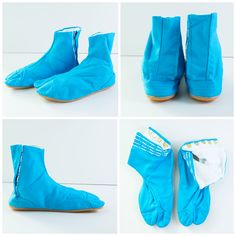 Aoi Sora Blue Japonista Sole Jika Tabi Shoes - Japan Lover Me Store Tabi  Shoes a718c8bae