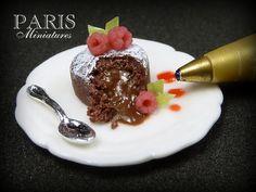 Chocolate Fondant Cake - Miniature Food by Paris Miniatures, via Flickr