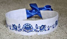 Curtain Tie Backs, Dog Bowls, Cuff Bracelets, European Countries, Embroidery, Traditional, Czech Republic, Belts, Handmade