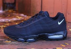 "1f18ef249dcafe Nike Air Max 95 PRM Tape ""Reflect"" - Black - Silver - SneakerNews.com"