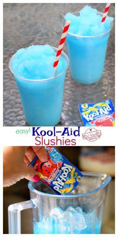 Kool-Aid Slushie Recipe | Kid Friendly Things To Do