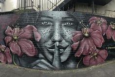 street art Jerome in London, 2017