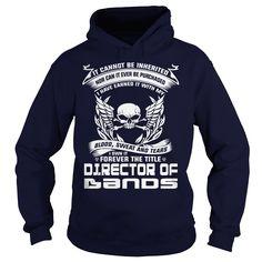 (Deal Tshirt 3 hour) DIRECTOR OF BANDS-BLOOD [Tshirt design] Hoodies, Funny Tee Shirts