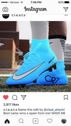 cb0bca81a6d IN ❤ WITH THESE CLEATS  footballtips Soccer Memes
