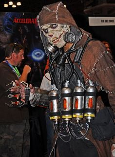 Scarecrow Cosplay 2 NYCC 2015 by PD07