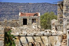 In the island of absence: Spinalonga, Crete Crete Island, Fortification, Interesting History, Greek Islands, 16th Century, Day Trip, Greece, Past, Scenery