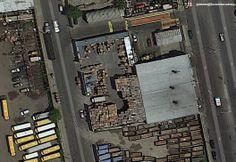 Pallet yard, Hunts Point the Bronx