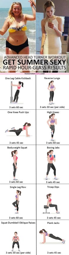 #womensworkout #workout #femalefitness Repin and share if this workout got you summer sexy! Click the pin for the full workout.