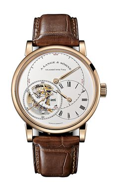 A. Lange & Söhne / Richard Lange Tourbillon model. Absolutely beautiful watch.