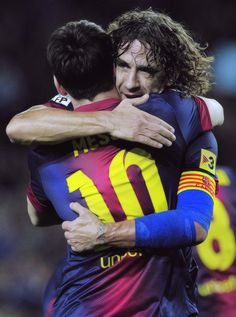 Messi y el Capi back on the pitch :)