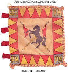 Companhia de Polícia Militar 683 Dili 1964/1966 Timor