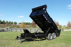 Valby Custom DOT Dump Trailer Forestry Equipment