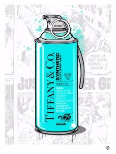 JJ Adams Tiffany & Co. - Brand Grenade, 2017 Print on paper, signed and framed Framed size 23 x 19 in x cm Edition of 45 Chanel Background, Mediums Of Art, Gloss Paint, Matte Painting, Cricut Creations, Paint Splatter, Cute Art, Framed Art Prints, New Art