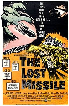 'The Lost Missile' (1958) - Fantastic A4 Glossy Print Taken From A Vintage Movie Poster by Design Artist http://www.amazon.co.uk/dp/B00I86VBJ2/ref=cm_sw_r_pi_dp_ul2jvb0QMK9K1