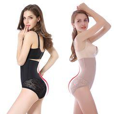 Women High Waist Slimming Panty Tummy Control and Butt Lifter Poast Partum Shapewear Girdle Plus Size Girdle, Slim Waist, High Waist, Nice Body, Shapewear, Underwear, One Piece, Lace, Girdles