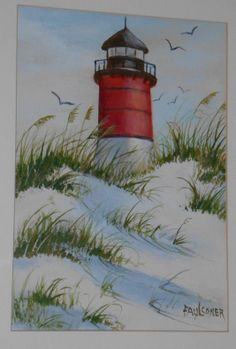I call this one The Lighthouse....hangs in my bathroom with a lighthouse theme...