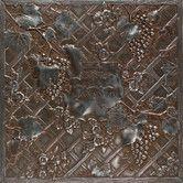 12 X 12 Decorative Tiles Endearing Iron Filigree Accent  Saxon Metalsamerican Olean  American Design Decoration