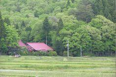 にほんの里100選 – 萩荘・厳美の農村部