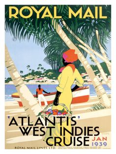 Royal Mail, West Indies Giclee Print at Art.com